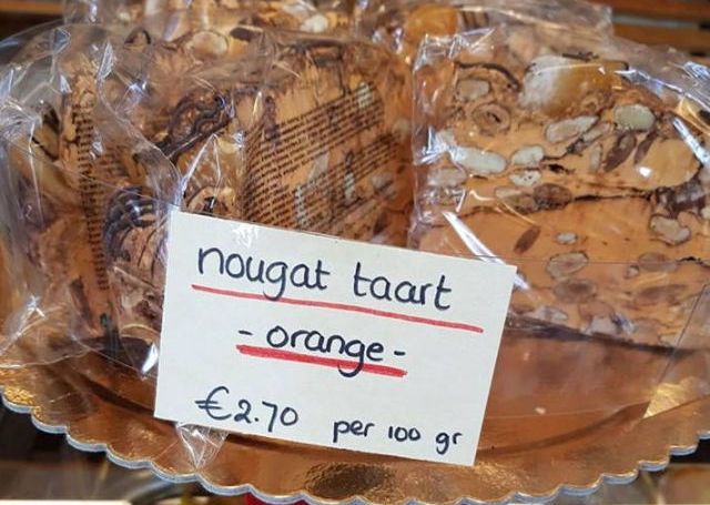Nougattaart -Orange-